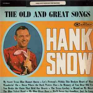 Hank Snow - The Old And Great Songs descargar gratis