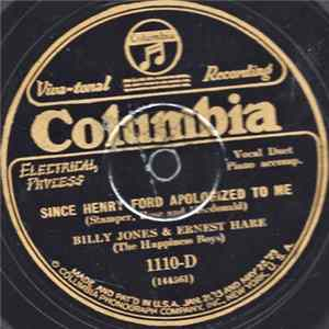 Billy Jones & Ernest Hare (The Happiness Boys) / Vaughn De Leath And Frank Harris - Since Henry Ford Apologized To Me / I Walked Back From The Buggy Ride descargar gratis